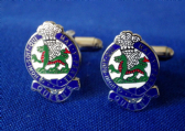 QUEEN'S REGIMENT CUFF LINKS